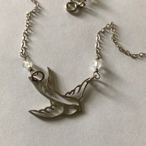 Jewelry - Sterling Silver Swallow Necklace